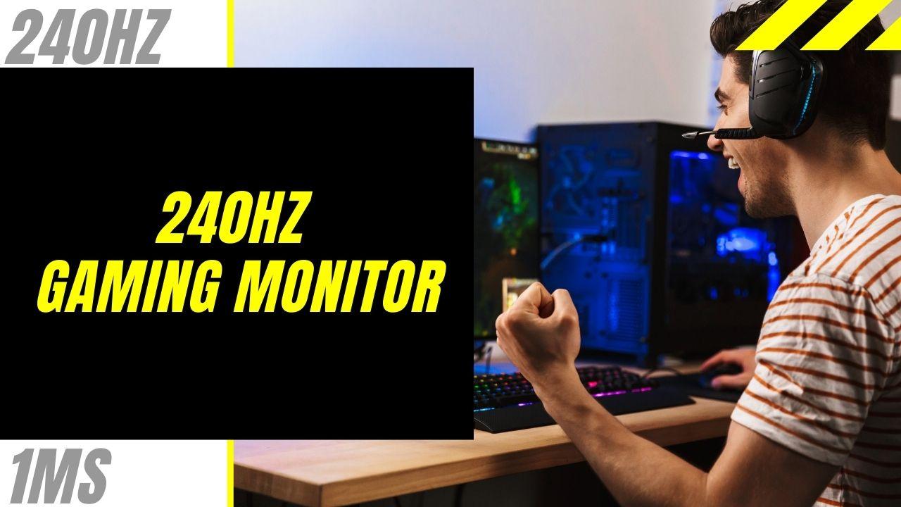 Beste gaming monitor 240hz