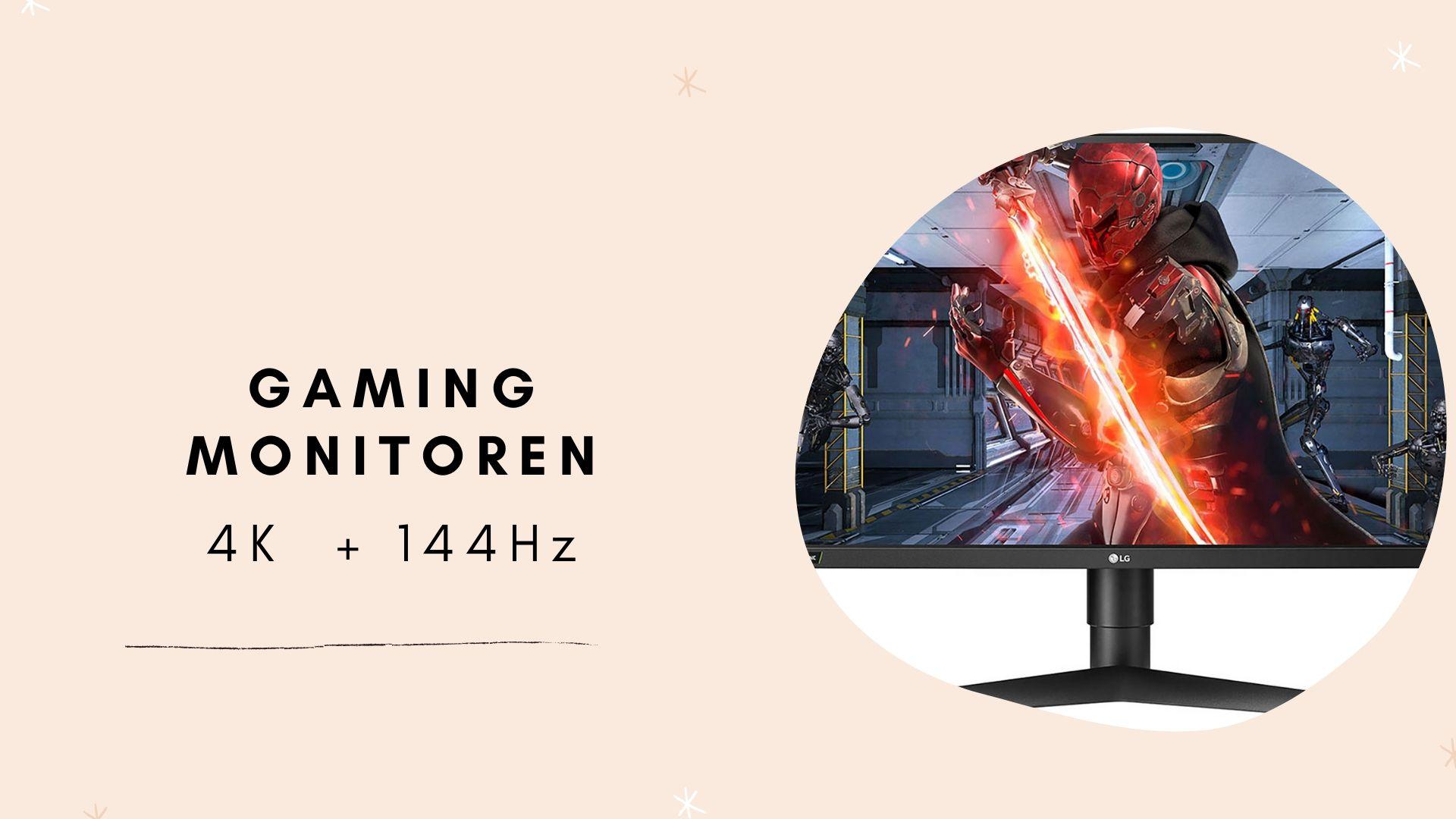 Gaming monitor 4k met 144hz