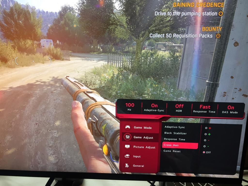 LG UltraGear 27GN950 - Beste 4K gaming monitor van 2020 - Crosshair selectie