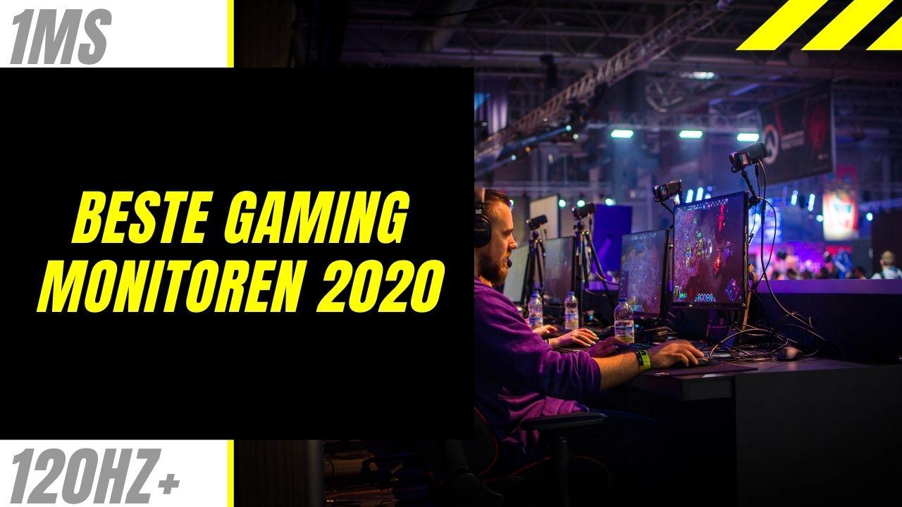 Beste gaming monitor van 2020