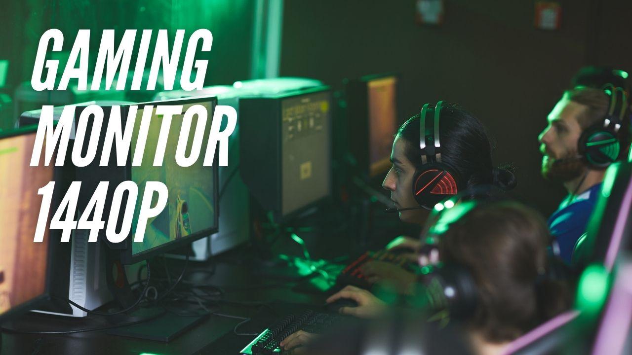 Beste gaming monitor 1440p