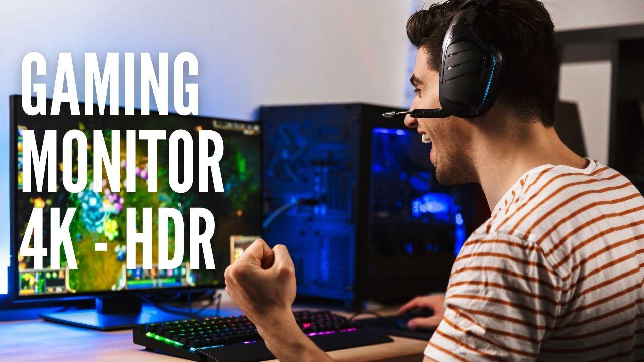 Beste gaming monitor 4k hdr